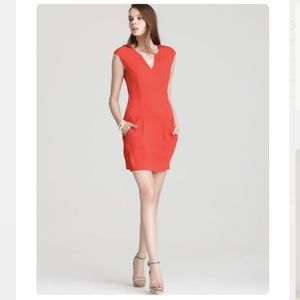 👗 Theory Engine Red 'Adalize' Dress